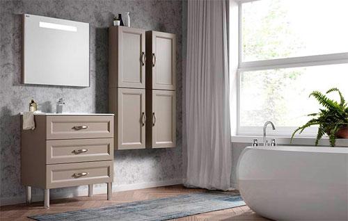 Особенности выбора мебели в ванную комнату