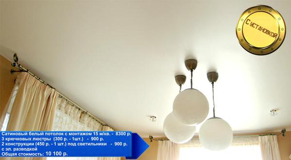 Что нужно знать о натяжных потолках?