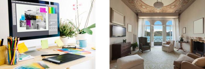 Создаем интересный дизайн в помещении