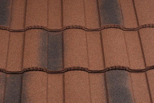 Крыша из композитной черепицы
