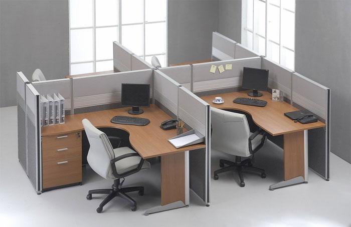 Принцип изготовления и размещения офисных перегородок