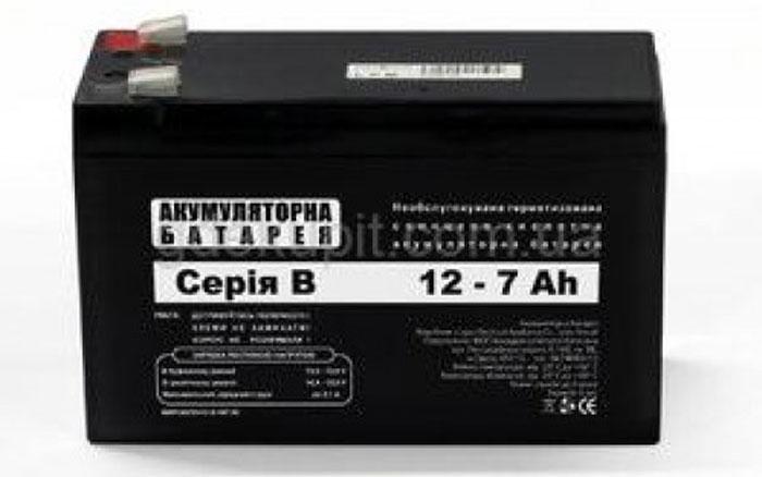 Аккумуляторы АКБ 7Ач 12В для систем сигнализации