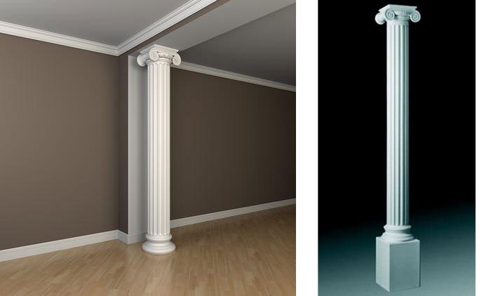 Что такое колонны из полиуретана