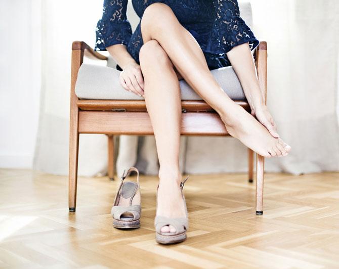Как разносить обувь?