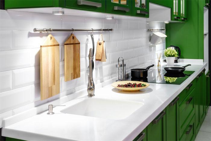 Преимущества и ассортимент кухонных моек из искусственного камня