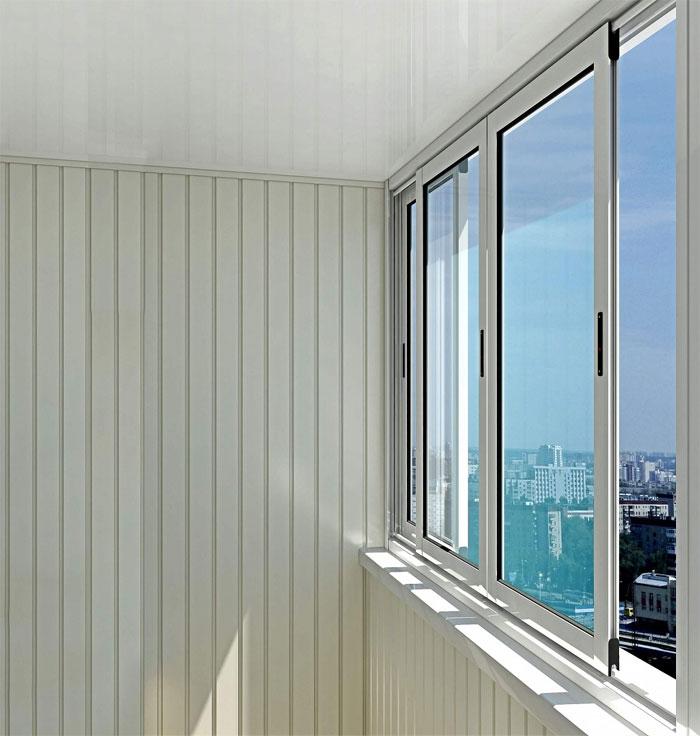 Алюминиевые окна балконные