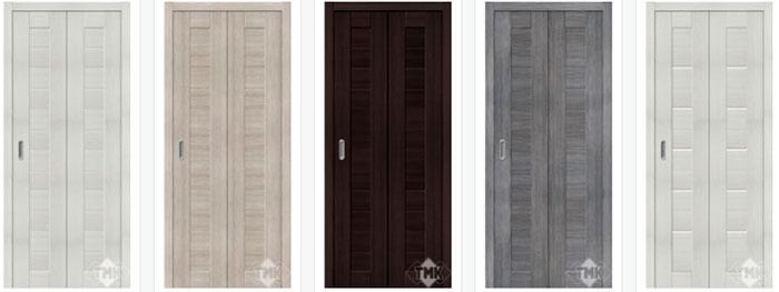 Двери-книжка: в чем плюсы данных дверей?