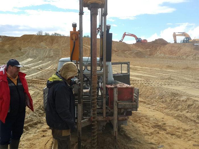 Геология участка для строительства в Туле