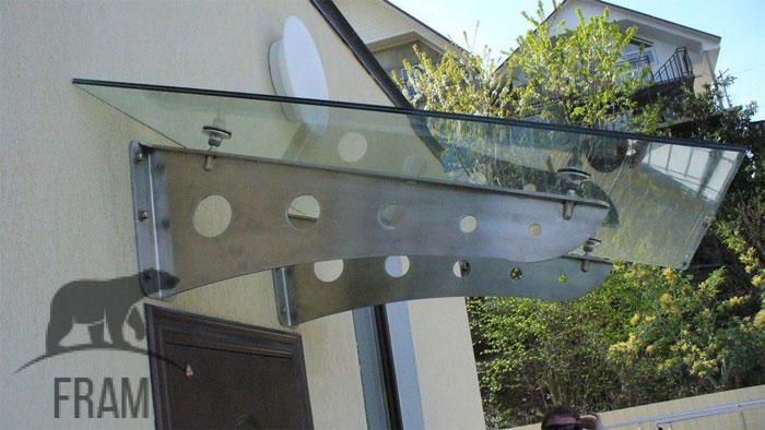 Стекло и металл в наружном обрамлении зданий