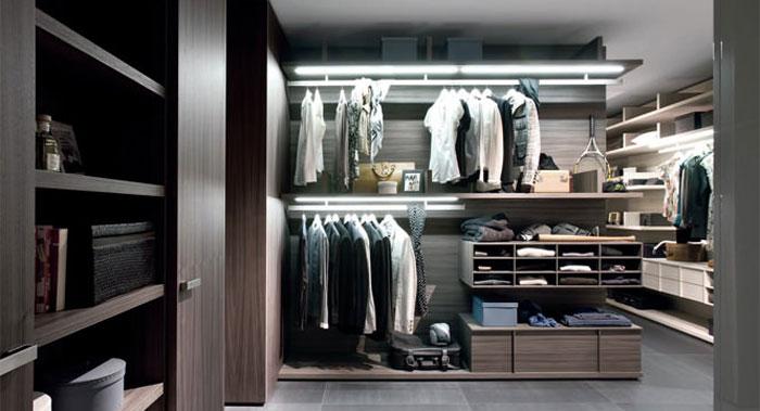 Гардеробные шкафы