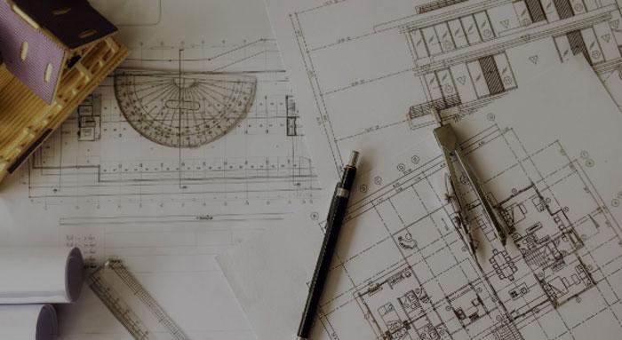 Кадастровые и геодезические работы в начале строительства.