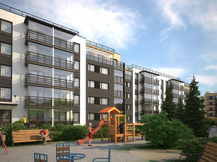 Вид на Неву — квартиры в Петро-Славянке