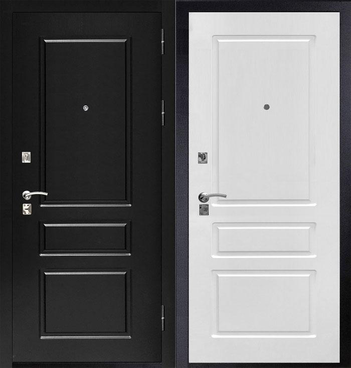 Входные двери светлых тонов