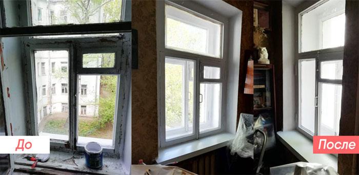 Деревянные окна: ремонт и советы по эксплуатации