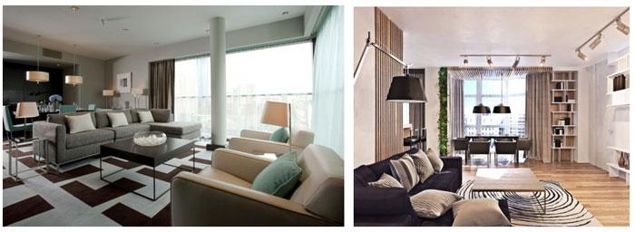 5 особенностей мебели в стиле контемпорари