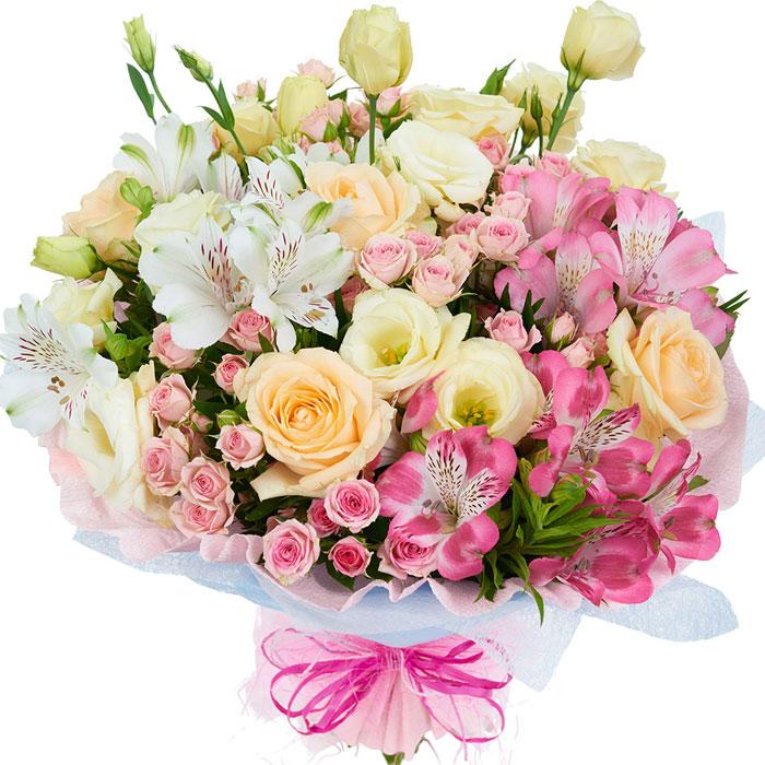 Подарок на все времена: букет цветов