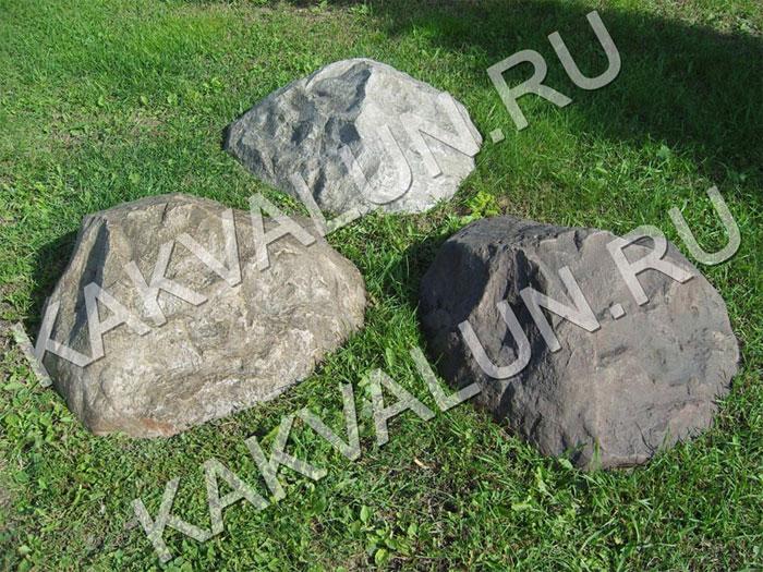 Искусственные камни для оформления ландшафта