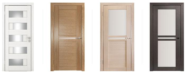 Простые способы отделки межкомнатных и входных дверей