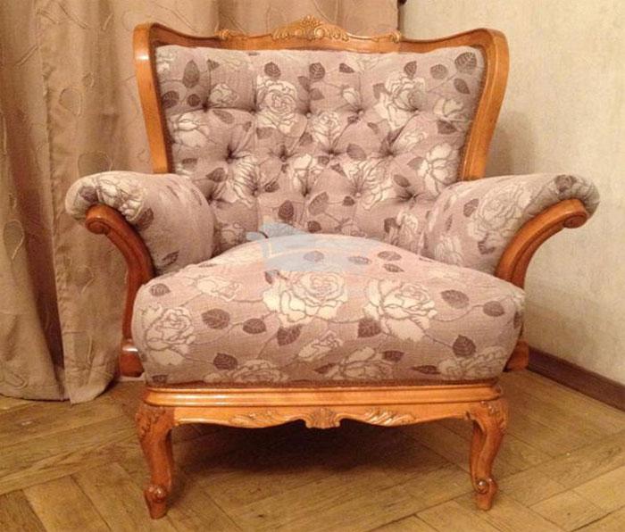 Перетяжка кресла: особенности, материалы и необходимость