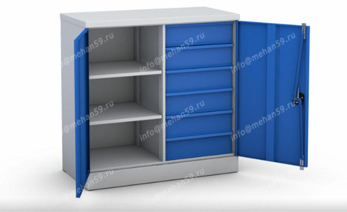 Свойства и виды металлических шкафов