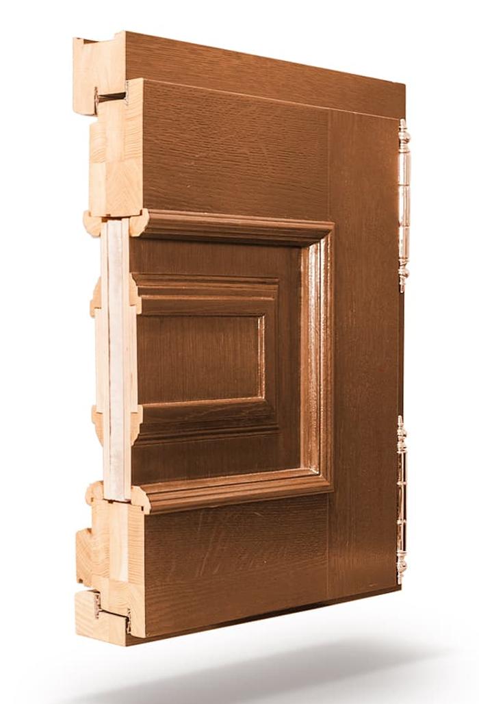 Входные деревянные двери RUKNA