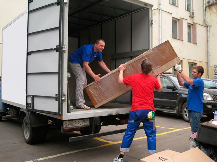 Заказать перевозку вещей по Москве