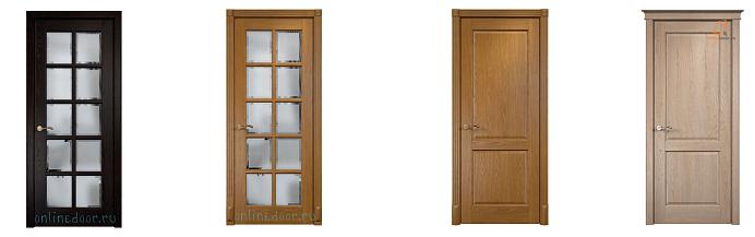 Межкомнатные двери из массива: разновидности и ценность
