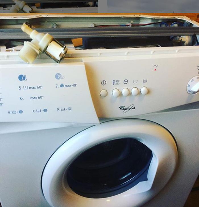 Когда стиральная машина нуждается в ремонте
