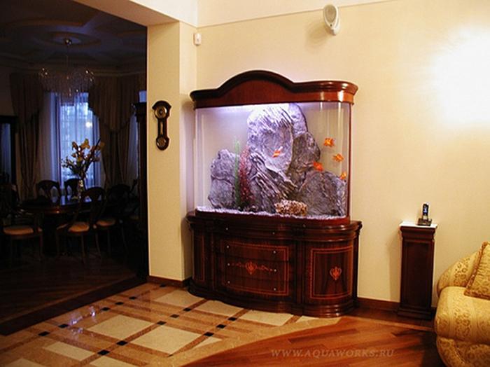 Мебель для аквариумов: функциональность и специфические особенности