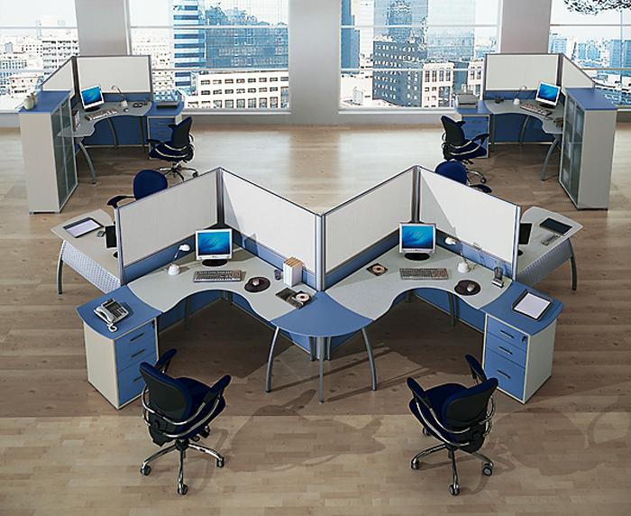 Мебель для офисов: основные виды и правила выбора