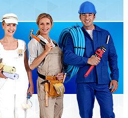 Средства индивидуальной защиты во время строительных работ
