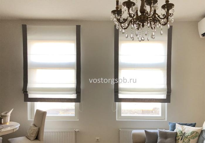 Как использовать римские шторы в вашем дизайне интерьера