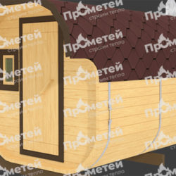 Квадро баня, баня бочка: особенности и преимущества