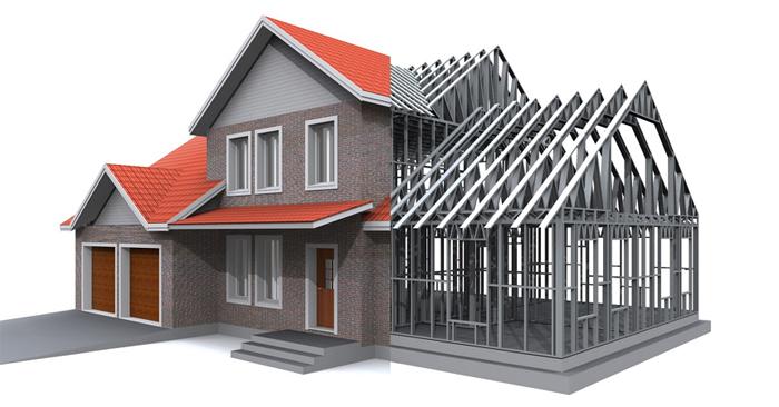 Уникальная технология ЛСТК в строительстве каркасных домов