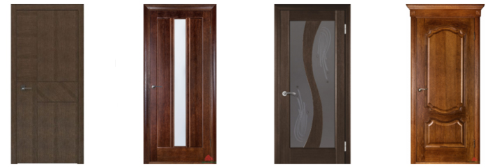 Разновидности межкомнатных дверей для дома