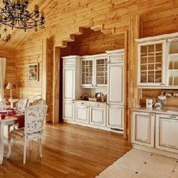 Дизайн кухни в деревянном доме — как сделать самостоятельно