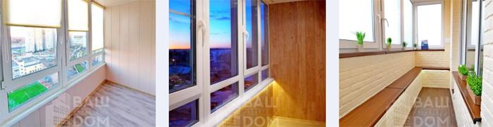 Отделка балконов и лоджий: специфика и особенности