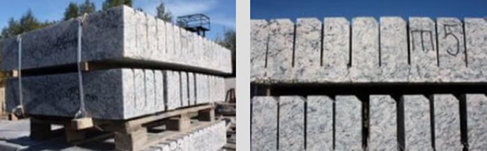 Гранитный бортовой камень: особенности, свойства и характеристики