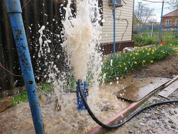 Как выполняется очистка скважины?